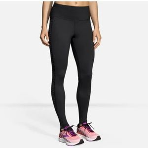 Brooks running greenlight tight leggings.